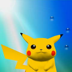 Trofeo de Pikachu en Melee.