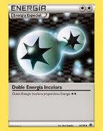 Doble Energía incolora (Negro y Blanco)