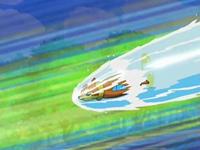 EP503 Buizel usando acua jet