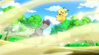 EP805 Pikachu VS Bunnelby (2)