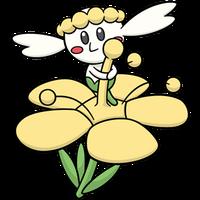 Flabébé amarilla (dream world)