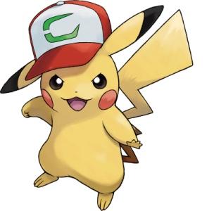 Pikachu con gorra USUL