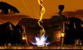 Pikachu usando megatrueno SSB4 3DS