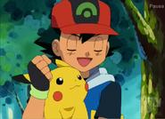 EP287 Ash y Pikachu