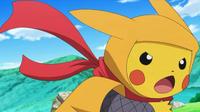 EP821 Pikachu ninja
