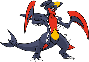 Mega-Garchomp (dream world)