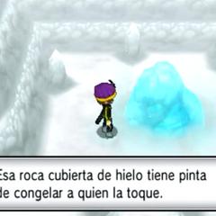 La roca hielo en la <a href=