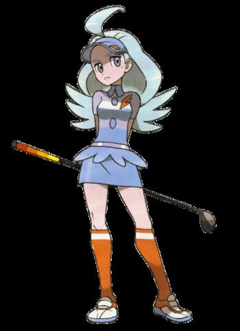 "Kahili en <a href=""/es/wiki/Pok%C3%A9mon_Sol_y_Pok%C3%A9mon_Luna"" title=""Pokémon Sol y Pokémon Luna"">Pokémon Sol y Pokémon Luna</a>"