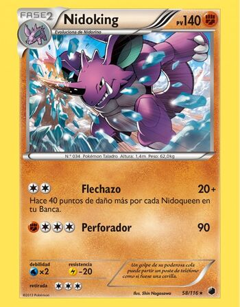 Carta de Nidoking
