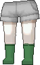 Calcetines verde