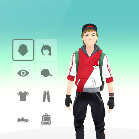 Personalización del avatar (hombre).