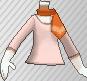 Camiseta con pañuelo rosa claro