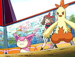 EP400 Skitty y Combusken de May