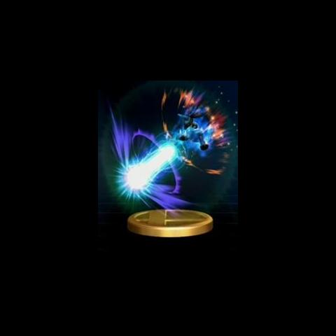 Trofeo del Smash Final de Lucario en <a href=