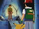 EP005 Ash frente a Brock