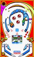 Tablero rojo Pinball