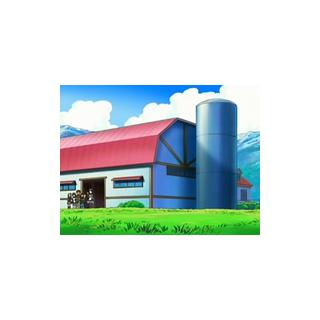 Edificio donde se ordeña a las <a href=