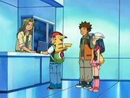 EP484 Ian entregando a Ash su estuche de medallas