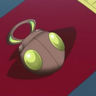 Medalla Insecto en el anime.