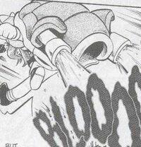PMS039 Blastoise de Blue Usando Hidrobomba