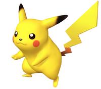 Pikachu en Super Smash Bros Brawl