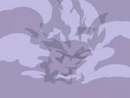 EP480 Silueta de Misdreavus en el humo