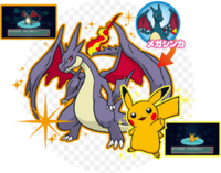 Evento Charizard o Pikachu variocolores