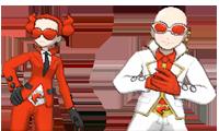 VS Comandante y Recluta del Team Flare