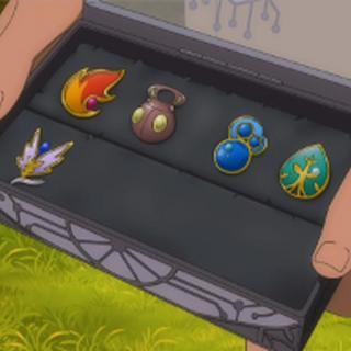 Sabino con sus medallas donde se ve que gano la medalla Insecto.