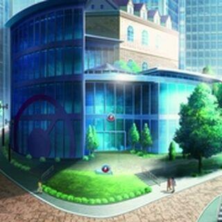 El Centro Pokémon de Ciudad Roshan.