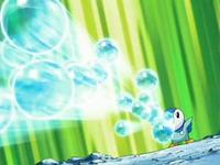 EP503 Piplup usando Rayo burbuja