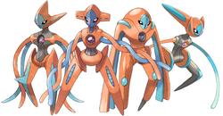 Formas de Deoxys