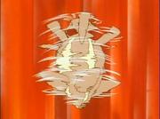 EP034 Kangaskhan usando puño mareo