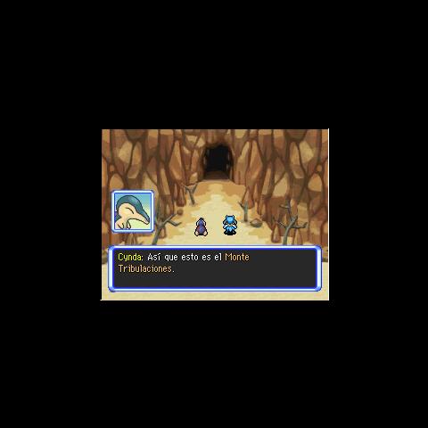 Entrada al Monte Tribulaciones