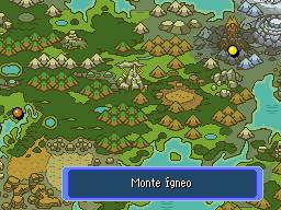 Ubicación del Monte Ígneo