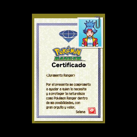 Certificado Femenino