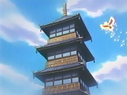EP183 Ho-Oh volando hacia la Torre Hojalata