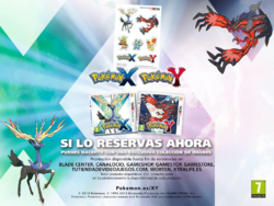 Imanes al reservar Pokémon XY