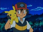 EP525 Ash y Pikachu