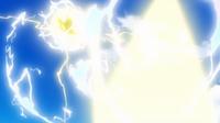 EP953 Pikachu usando rayo