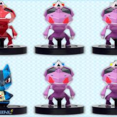 Seis figuras repartidas en Pokémon Smash!: un <a href=