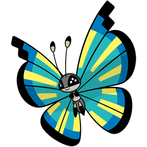 Vivillon pantano (dream world)