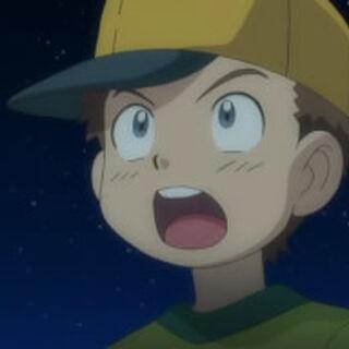 Profesor Icarus/Ícaro cuando era pequeño.