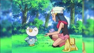 ¡Maya se encuentra con Piplup! Pokémon Diamante y Perla