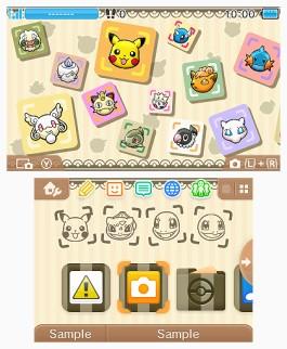 Tema 3DS Pokémon Shuffle