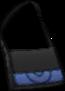 Bandolera Bicolor Negro
