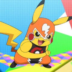 Pikachu Libre/enmascarado