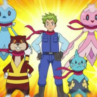 El Equipo de Rescate Pokémon de Halsey.