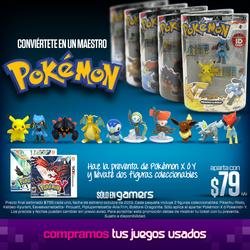 Figuras coleccionables por reservar Pokémon XY