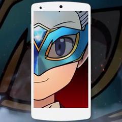 Uno de los personajes de Pokémon Duel.